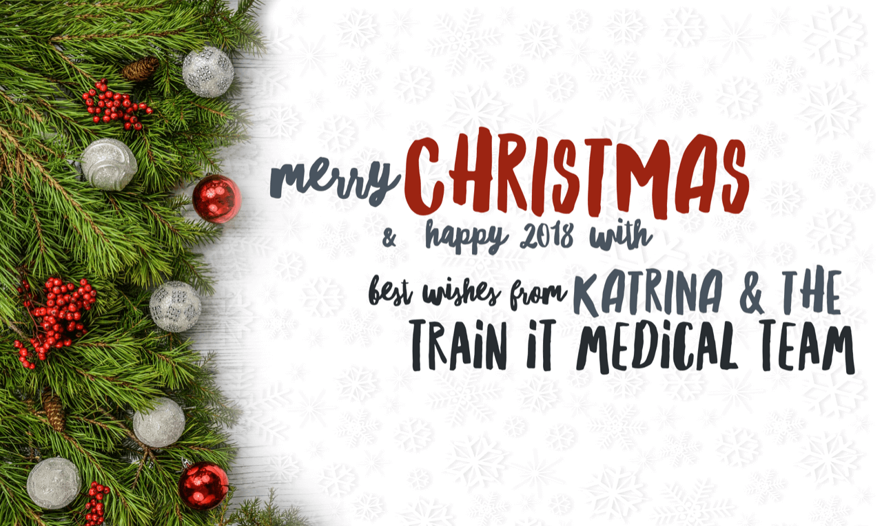 Christmas Greetings Images.2017 Reflections Christmas Greetings Train It Medical